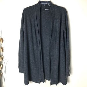 Saks Fifth Avenue Long Cashmere Cardigan Medium